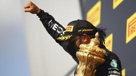 Klasemen F1 Usai Hamilton Menang F1 GP Inggris