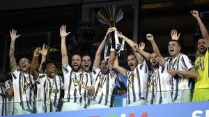 FOTO: Juventus Rayakan Gelar Scudetto Ke-36