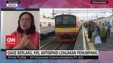 VIDEO: Gage Berlaku, KRL Antisipasi Lonjakan Penumpang