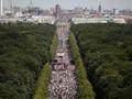 Demo Penganut Teori Konspirasi Jerman Ricuh, 45 Polisi Luka