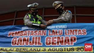 Gerindra Nilai Ganjil Genap Jakarta Saat Pandemi Tak Efektif