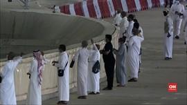 VIDEO: Jemaah Haji Lempar Jumrah Gunakan Kerikil Steril