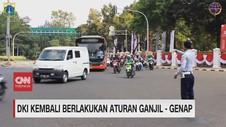 VIDEO: DKI Jakarta Kembali Berlakukan Aturan Ganjil Genap