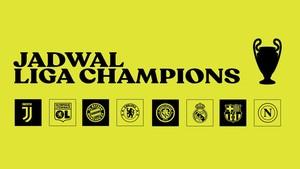 INFOGRAFIS: Jadwal Liga Champions