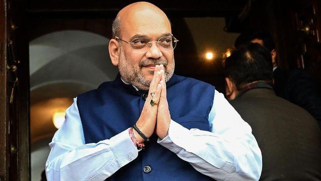 Menteri dalam negeri India, Amit Shah menyatakan bahwa dirinya positif terinfeksi virus corona.