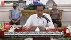 VIDEO: Jokowi Singgung Lambatnya Realisasi Anggaran Covid-19