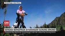 VIDEO: Sensasi Bersepeda di Kawasan Gunung Bromo