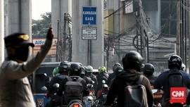 Polisi Catat 369 Pelanggaran di Ganjil Genap DKI Hari Pertama