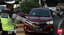 Dishub DKI: 1.195 Kendaraan Langgar Ganjil Genap Hari Pertama