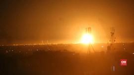 VIDEO: Balas Serangan, Israel Tembakkan Roket ke Gaza