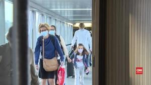 VIDEO: Turis 16 Negara Wajib Tes Corona sebelum ke Prancis