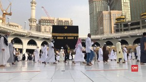 VIDEO: Tawaf Wada' Tutup Ibadah Haji di Tengah Pandemi Corona