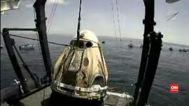 VIDEO: Melihat Proses SpaceX Crew Dragon Kembali ke Bumi