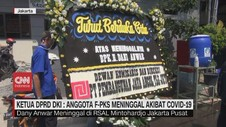 VIDEO: Anggota Dewan Wafat, Gedung DPRD DKI Ditutup