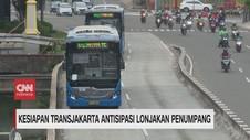 VIDEO: Transjakarta Tambah 155 Bus di Kawasan Ganjil Genap