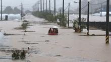 Hujan Deras Picu Banjir di Korsel, 13 Tewas dan 13 Hilang