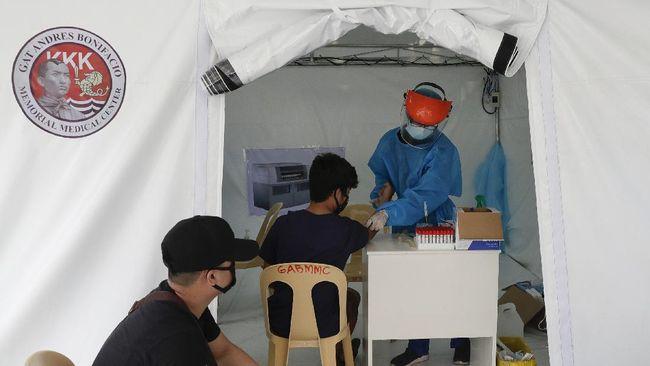 Jumlah kasus virus corona di Filipina saat ini tertinggi di Asia Tenggara dan posisi ketujuh di Asia.