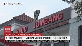 VIDEO: Istri Wabup Jombang Positif Covid-19