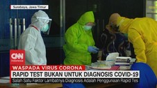 VIDEO: Rapid Test Bukan Untuk Diagnosis Covid-19