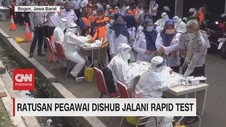 VIDEO: Pegawai Dishub & PT. KAI Jalani Rapid Test & Tes Swab