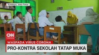 VIDEO: Pro-Kontra Sekolah Tatap Muka