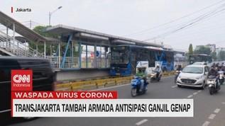 VIDEO: Transjakarta Tambah Armada Antisipasi Ganjil-Genap