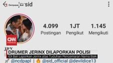 VIDEO: Drummer Jerinx Dilaporkan IDI Bali ke Polisi