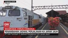 VIDEO: PT KAI Tambah Jadwal Perjalanan Kereta Api Jarak Jauh