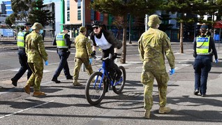 Australia Pecahkan Rekor Harian Covid-19, 725 Kasus Baru