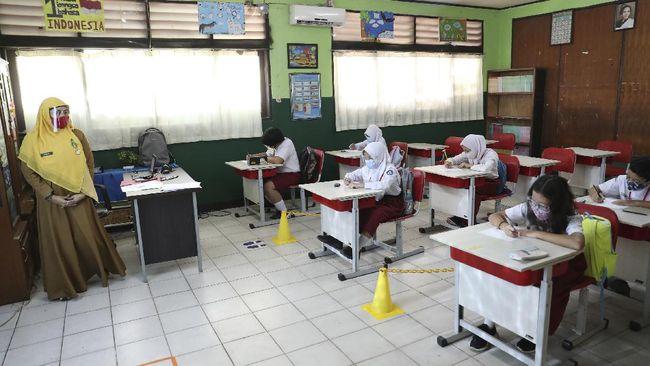KPAI menemukan hanya satu dari 21 sekolah yang dipantau yang memiliki kesiapan infrastruktur protokol pencegahan Covid-19.