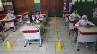 Sekolah Belum Dibuka saat PSBB Transisi Jakarta