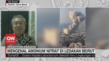 VIDEO: Mengenal Amonium Nitrat di Ledakan Beirut