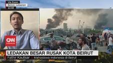 VIDEO: Kesaksian Mahasiswa Indonesia di Beirut Saat Ledakan
