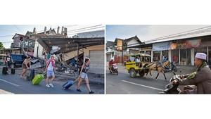 FOTO: Geliat Warga Dua Tahun Setelah Gempa Lombok Magnitudo 7
