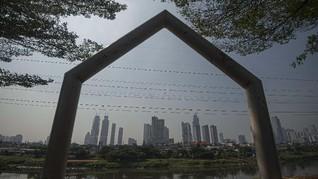 FOTO: Aktivitas Ekonomi di Tengah Pertumbuhan Minus