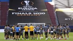 FOTO: Inter Milan Jelang Laga 'Diskon' 16 Besar Liga Europa