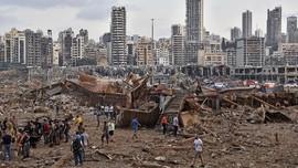 Ledakan Amonium Nitrat Beirut setara Gempa M 3,3