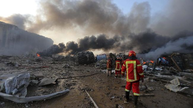 Dewan Pertahanan Tertinggi Libanon menyatakan ledakan di Ibu Kota Beirut pada Selasa (4/8) petang sebagai bencana kecelakaan (disaster-striken city).