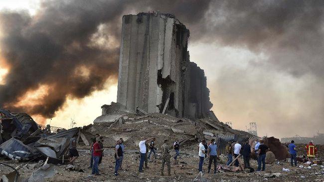 Pemerintah Libanon sampai saat ini masih menelusuri penyebab utama ledakan dahsyat di pelabuhan Beirut.