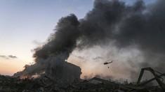 FOTO: Beirut Porak Poranda Akibat Ledakan Dahsyat