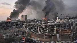 Klaim Trump Sebut Ledakan Libanon Serangan Picu Kekhawatiran
