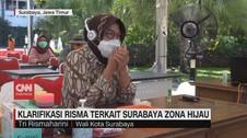 VIDEO: Klarifikasi Risma Terkait Surabaya Zona Hijau