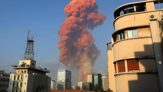 Palang Merah Libanon melaporkan hingga kini korban tewas akibat ledakan besar di Ibu Kota Beirut telah mencapai lebih dari 100 orang.