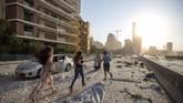 Ledakan besar terjadi di ibu kota Beirut, Libanon pada Selasa (4/8) petang di sebuah gudang penyimpanan 2.750 ton amonium nitrat yang berdaya ledak tinggi.