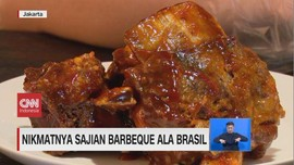 VIDEO: Nikmatnya Sajian Barbeque Ala Brasil