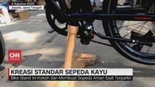 VIDEO: Kreasi Standar Sepeda dari Kayu