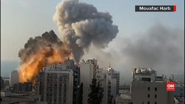 VIDEO: Kondisi Beirut Pasca Ledakan Besar