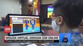 VIDEO: ITS Gelar Wisuda Virtual dengan Gim Online Minecraft
