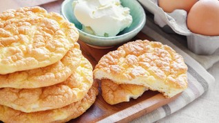 Cloud Bread, dari 'Diet' sampai Jadi Roti Awan yang Viral
