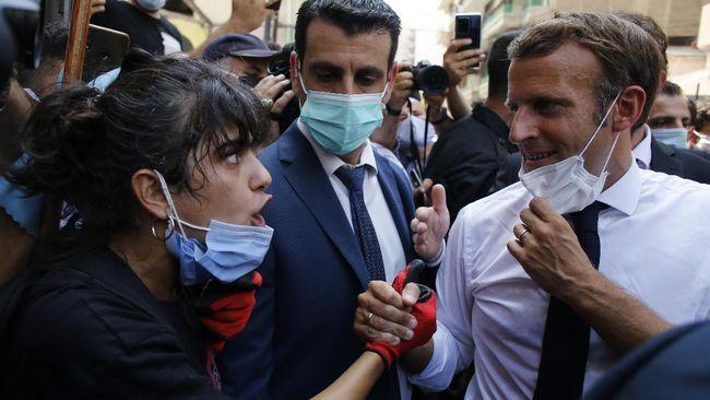Presiden Prancis Emmanuel Macron memperingatkan Iran agar tidak ikut campur urusan Libanon ketika negara itu sedang membangun kembali usai ledakan dahsyat
